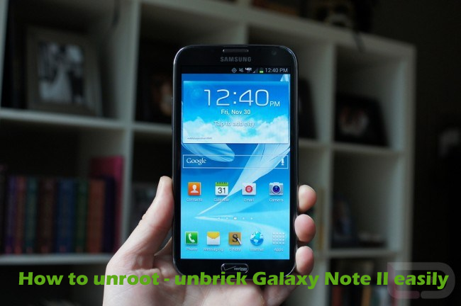 One click unbrick for samsung